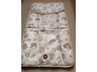 Mamas and papas baby changing mat