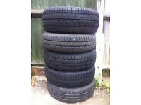 PART WORN TYRES, 175/70/14 185/55/14 165/65/13 155/80/13 155/65/13 ONLY £5 EACH