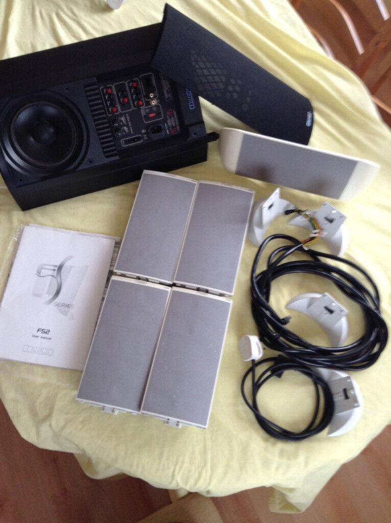 Mission FS2-AV 5.1 speaker system