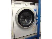 Beko 8kg 1400spin white washing machine. £199 new/graded 12 month Gtee