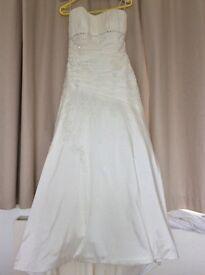 Jasmine ivory wedding dress