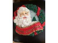 Christmas door / wall singing wreath