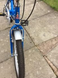 Raleigh folding bike Very good condition £95 ono