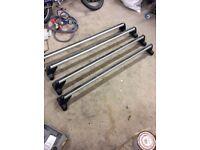 Vw transporter roof rack bars t5. T6