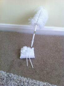 Wedding guest book feather pen