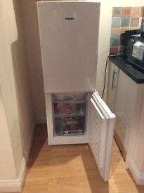 Good condition white fridge model bush