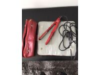 Hair straightener babyliss red radiance 230