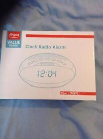 Clock radio brand new