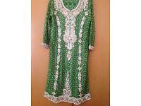 Asian wedding dress mehndi dress