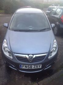 (58 plate) CORSA CLUB 1.4 AUTOMATIC £1200