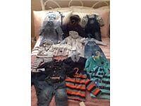Baby boys clothes bundle excellent condition 0-6 months
