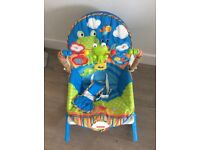 Fisher Price newborn to toddler rocker chair. In excellent condition.
