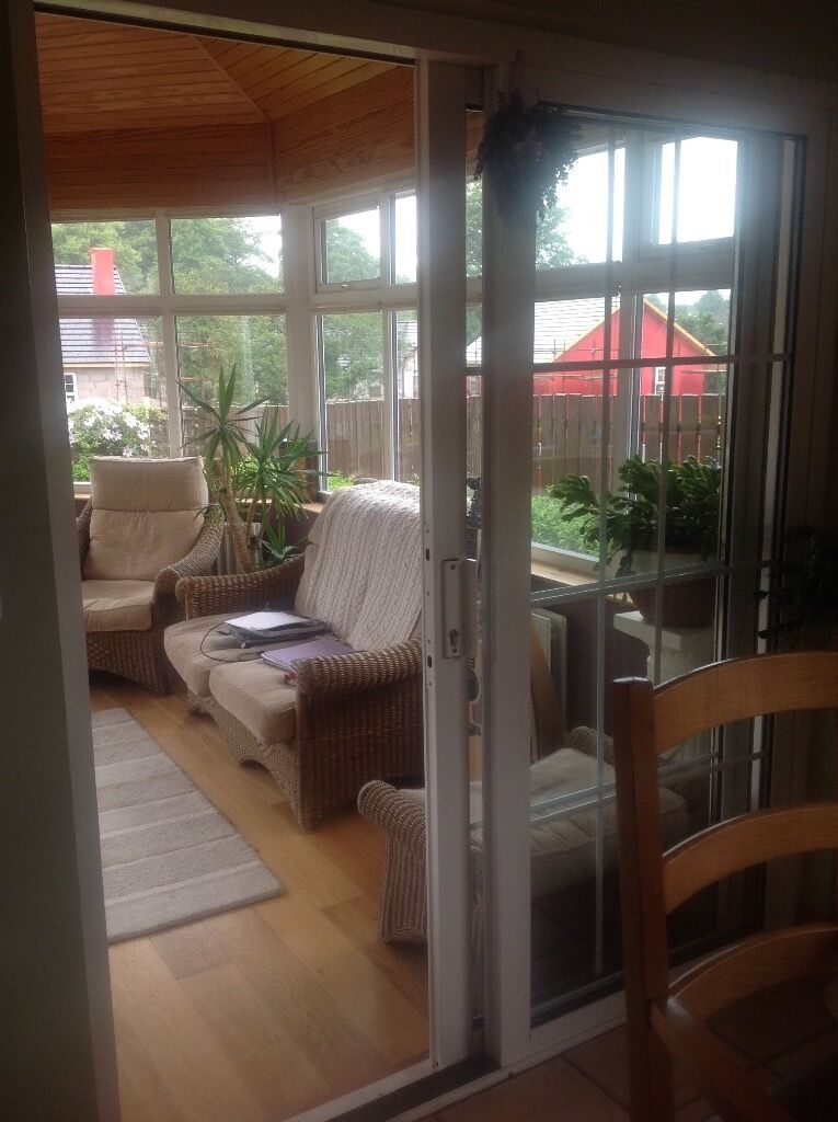 Sliding patio doors double glazed in omagh county for Double glazed porch doors