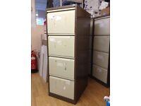 4 filing cabinets