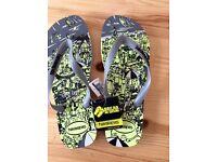 BRAND NEW men's Havaianas Flip flops