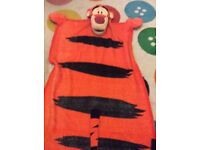 Tigger Cuddleuppet blanket with head arms and feet