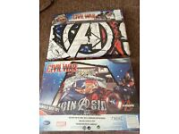 Next Avengers single bed set x 2