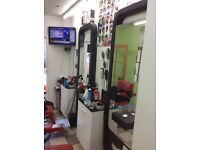 Space available for immediate letting. Barber/Hairdresser/Make up artist WANTED!!!! Call 07404932810