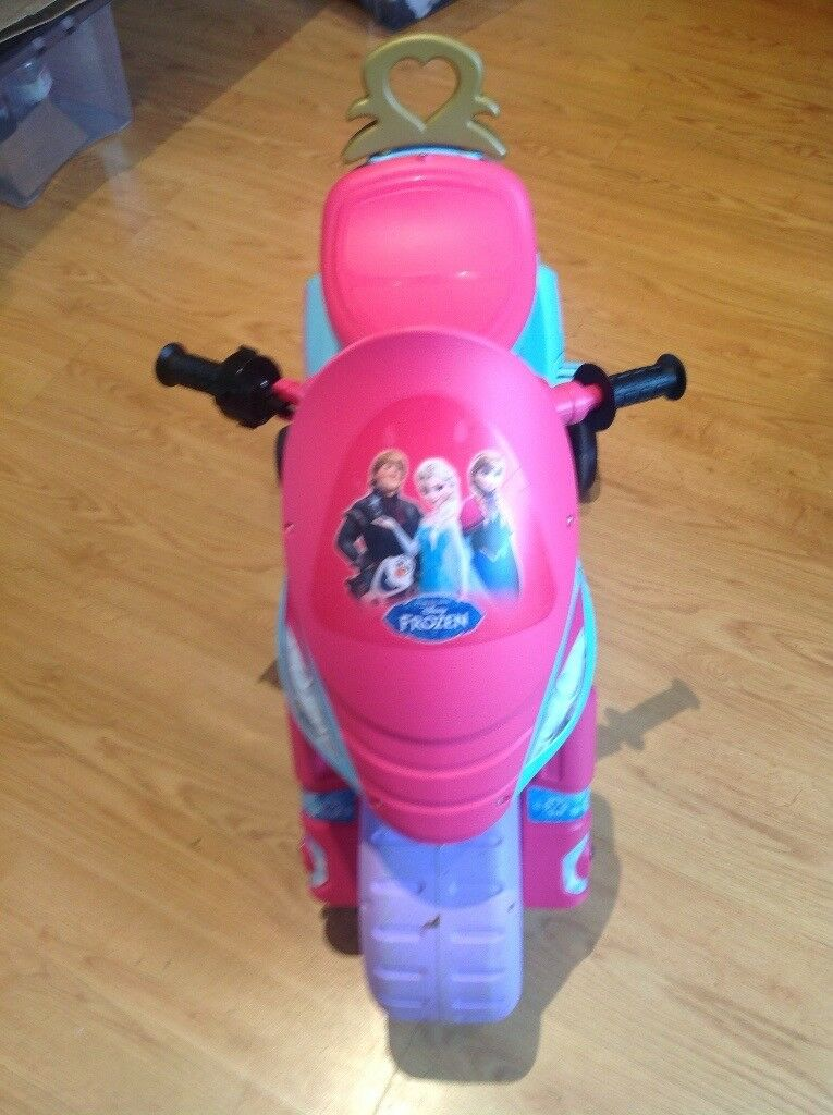 Child's ride on bike