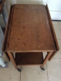 Vintage hostess/drinks trolley
