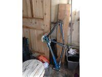 Sunn mountain bike frame