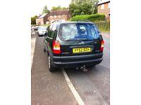 Vauxhall zafira 52 spares or repairs