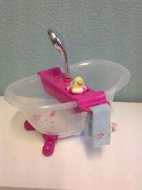 Baby Born bath
