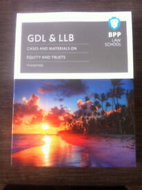 BPP GDL Equity and Trusts Study Notes + Cases & Materials - 7th edition (2017-2018)