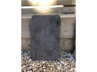 Used old welsh slate tiles