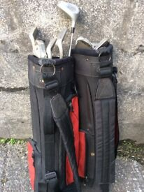 Golf Clubs with carry bag
