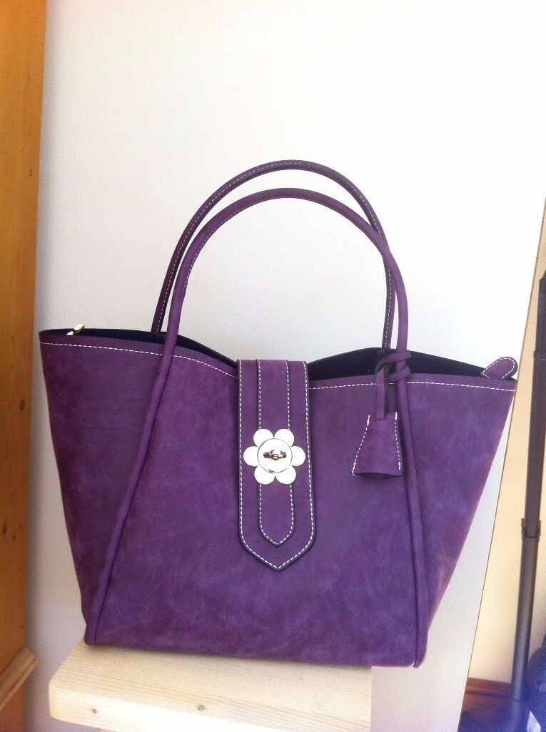New Faux Mulberry Handbag from Turkey, two bags in one.