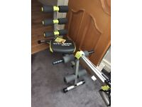 Wondercore 2 home fitness gym - Never used . Workout for ALL body areas ,see description on argos