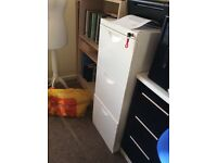 White three drawer filing cabinet-Immaculate!
