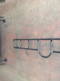 Land Rover 90 roof rack and ladder
