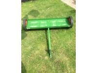 Sch tow behind lawn system