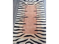 100% pure new wool rug