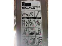 ABRU 3.34m Folding Ladder £45 o.n.o
