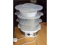 MORPHY RICHARDS 3 Tier Steamer - STAINLESS STEEL!!!