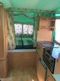 Pennine folding camper green good con yr 2005