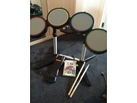 X box 360 drum kit