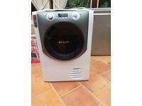 Hot point top spec 9kg tumble dryer condenser ,