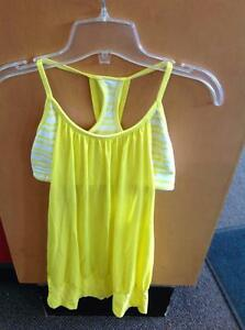 Lululemon Athletic Tank Top 6 Yellow (SKU:WWARPA)