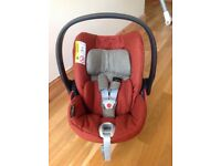 Cyber cloud Q car seat with isofix base