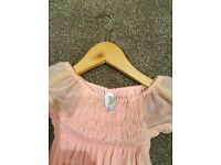 Girls pink dress by jasper conran, age 4-5