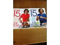 Joe wicks lean in 15 cook books x2