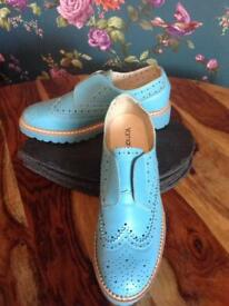 **FREE POSTAGE** Yamamay brand new brogues/oxfords uk5 similar to dr martens