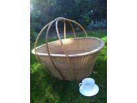 Vintage large basket