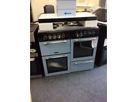 Leisure cookmaster 100cm dual fuel range new/graded 12 mth gtee £750