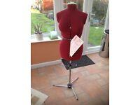 Adjustoform Supa-Fit Dressmaking dummy and professional cutting board