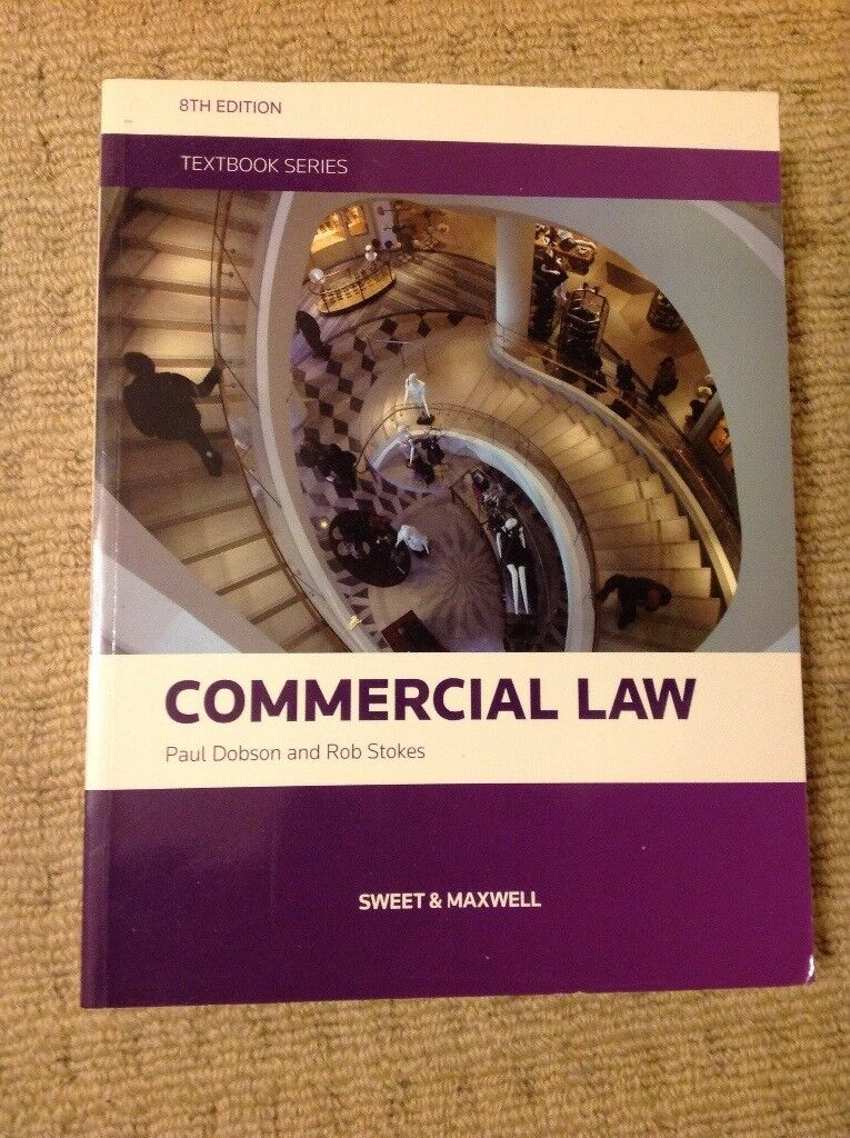 Law book, Commercial Law